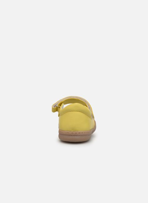 Ballet pumps Primigi PTF 34323 Yellow view from the right