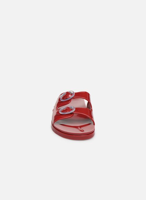 Mules et sabots Méduse Mambo Rouge vue portées chaussures