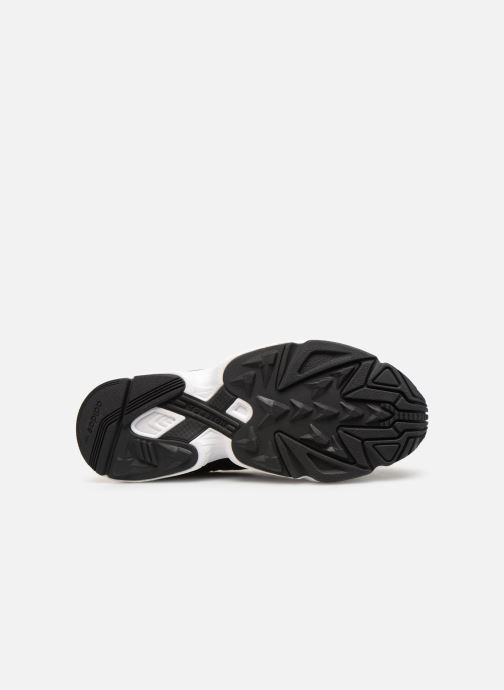 Baskets adidas originals Yung-96 Noir vue haut