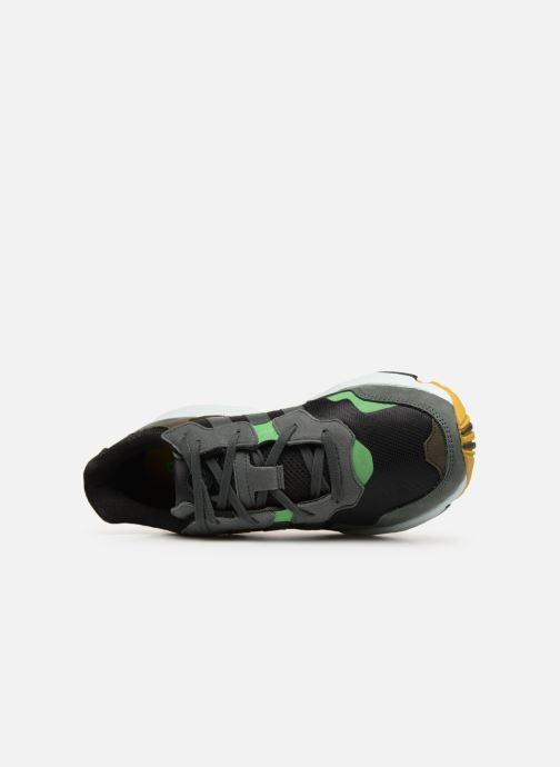 Baskets adidas originals Yung-96 Noir vue gauche
