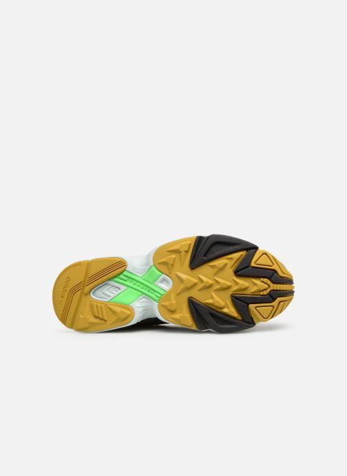 Baskets adidas originals Yung-96 Noir vue haut
