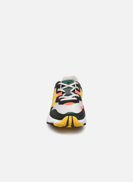 Baskets adidas originals Yung-96 Multicolore vue portées chaussures