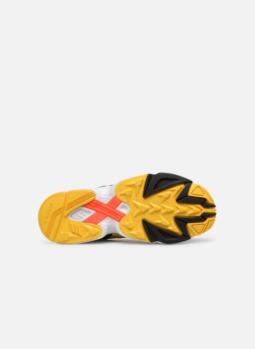 Baskets adidas originals Yung-96 Multicolore vue haut