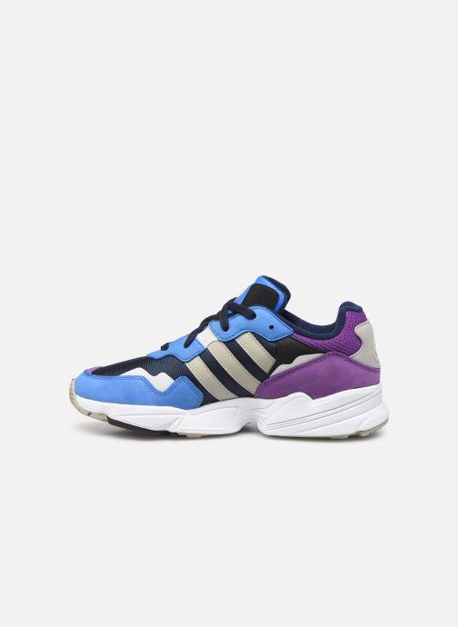 Sneakers adidas originals Yung-96 Blå bild från framsidan