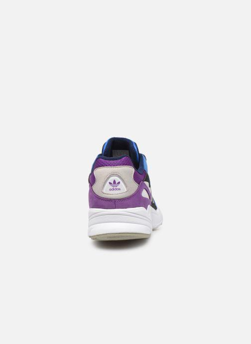 Baskets adidas originals Yung-96 Bleu vue droite