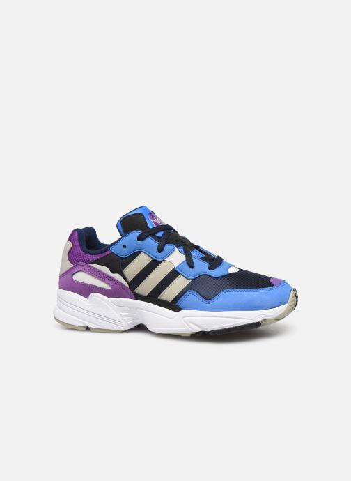 Sneakers adidas originals Yung-96 Blå bild från baksidan