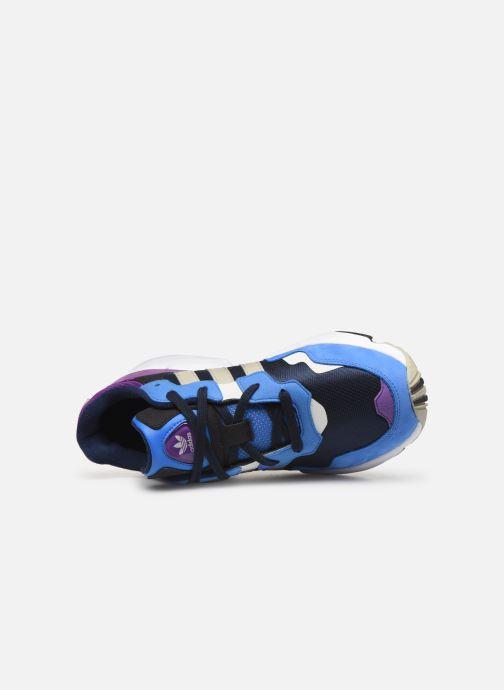 Sneakers adidas originals Yung-96 Blå bild från vänster sidan