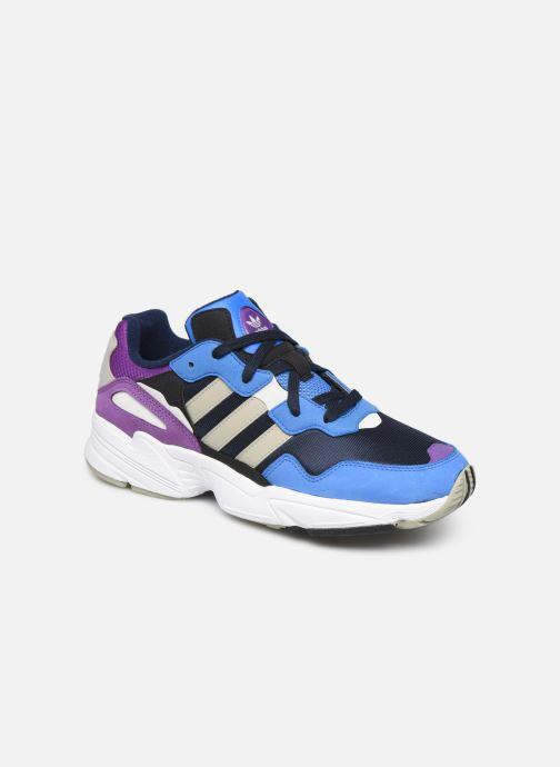 Sneakers adidas originals Yung-96 Blå detaljerad bild på paret