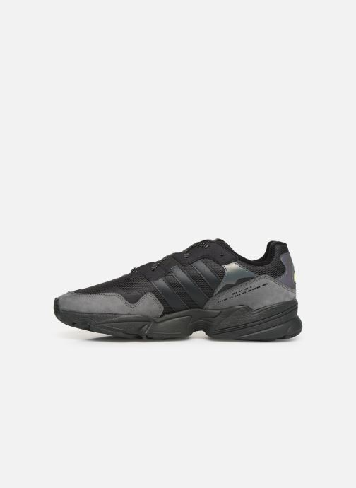 Sneakers adidas originals Yung-96 Sort se forfra