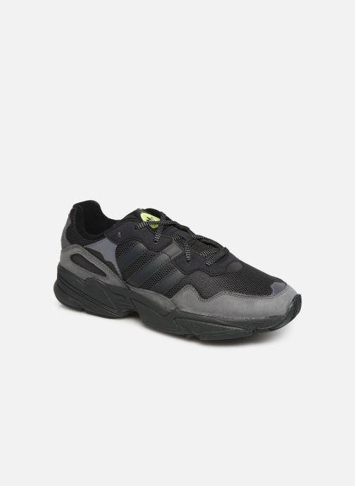 Sneakers adidas originals Yung-96 Sort detaljeret billede af skoene