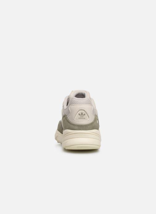 Deportivas adidas originals Yung-96 Blanco vista lateral derecha