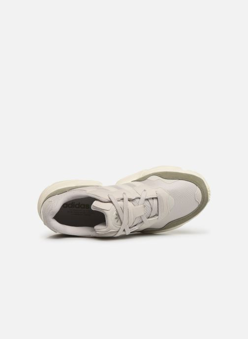 Deportivas adidas originals Yung-96 Blanco vista lateral izquierda
