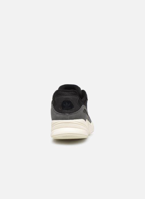 Deportivas adidas originals Yung-96 Negro vista lateral derecha
