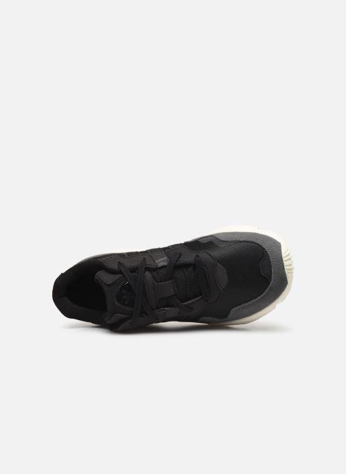 Deportivas adidas originals Yung-96 Negro vista lateral izquierda