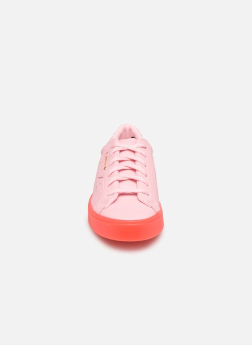 Sneaker adidas originals Adidas Sleek W rosa schuhe getragen