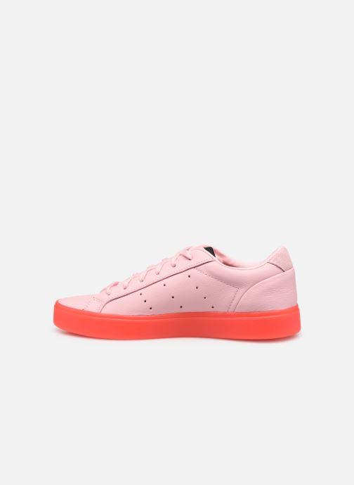 Sneaker adidas originals Adidas Sleek W rosa ansicht von vorne