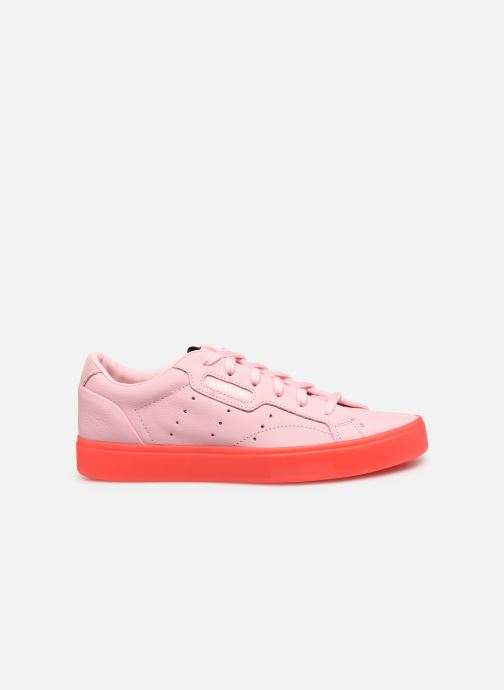 Baskets adidas originals Adidas Sleek W Rose vue derrière