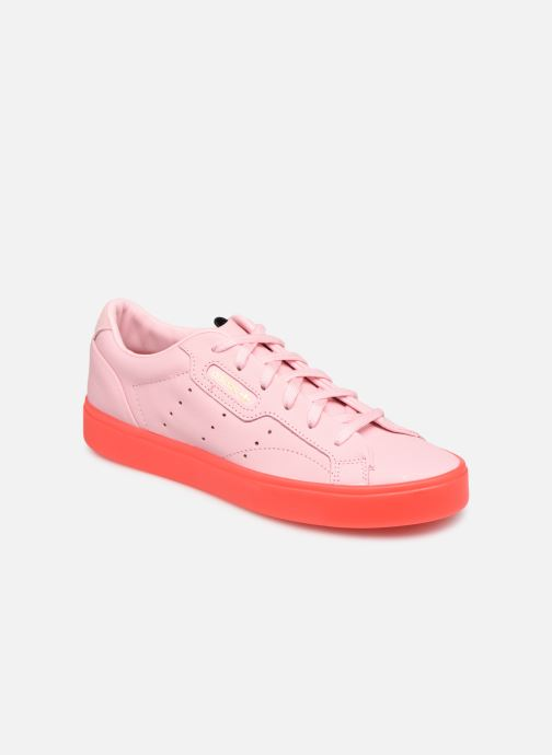 Baskets adidas originals Adidas Sleek W Rose vue détail/paire