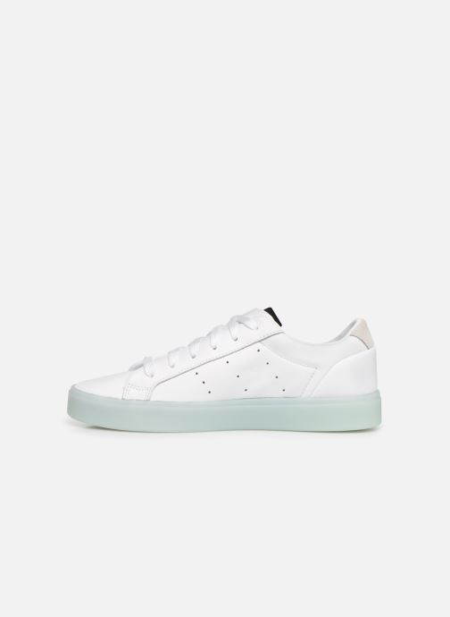 Sneaker adidas originals Adidas Sleek W weiß ansicht von vorne