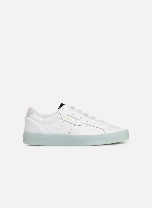 Baskets adidas originals Adidas Sleek W Blanc vue derrière