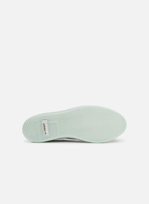Sneaker adidas originals Adidas Sleek W weiß ansicht von oben
