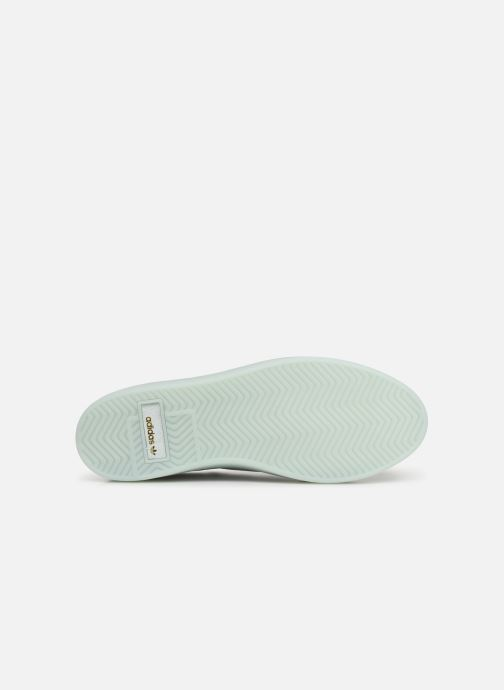 Baskets adidas originals Adidas Sleek W Blanc vue haut
