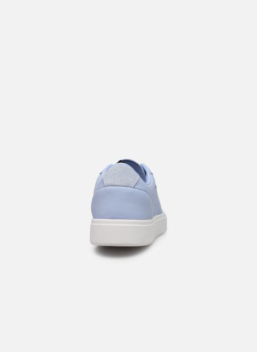 Sneaker adidas originals Adidas Sleek W blau ansicht von rechts