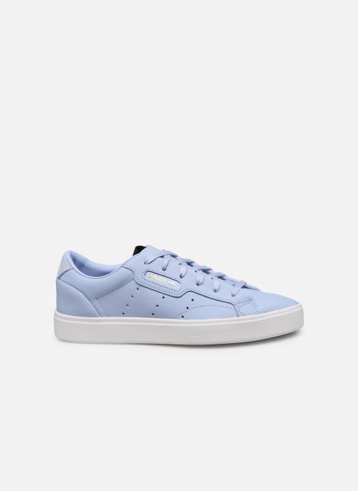 Sneaker adidas originals Adidas Sleek W blau ansicht von hinten