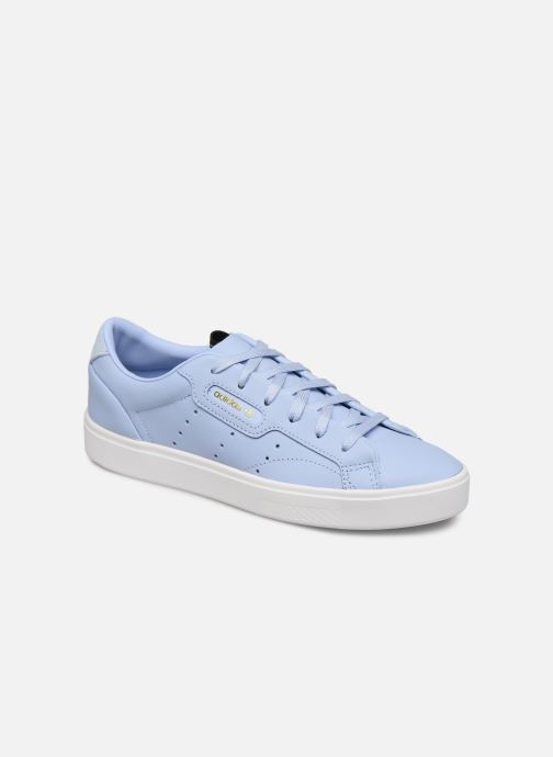 Deportivas adidas originals Adidas Sleek W Azul vista de detalle / par