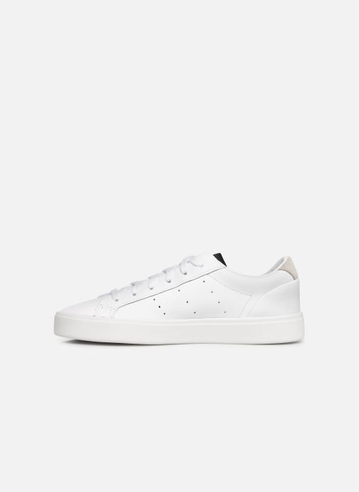 Sneakers adidas originals Adidas Sleek W Bianco immagine frontale