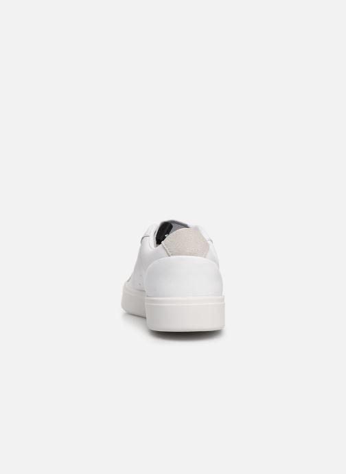 Sneakers adidas originals Adidas Sleek W Wit rechts