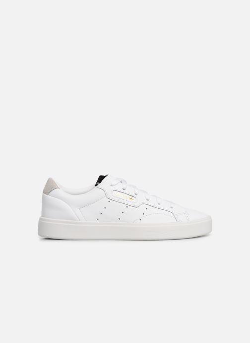 Sneaker adidas originals Adidas Sleek W weiß ansicht von hinten