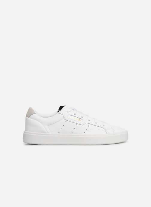 Baskets adidas originals Adidas Sleek W Blanc vue derrière