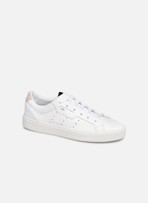 Deportivas adidas originals Adidas Sleek W Blanco vista de detalle / par