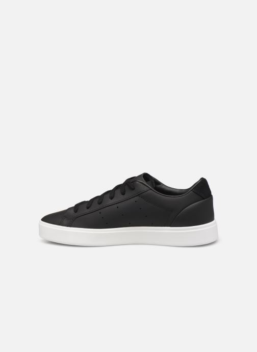 Sneakers adidas originals Adidas Sleek W Zwart voorkant