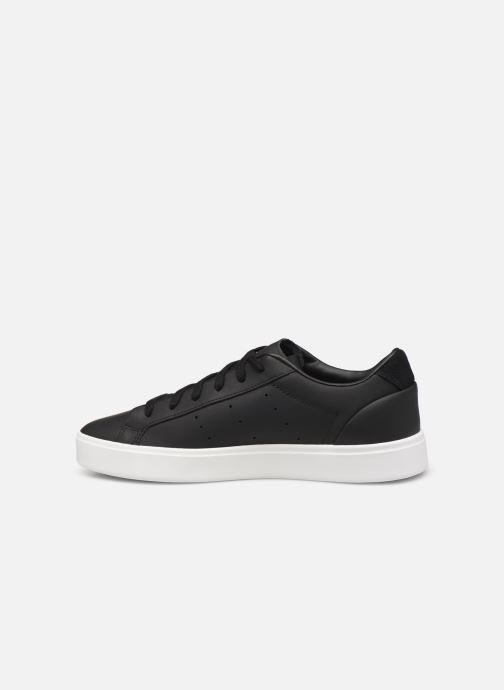Sneakers adidas originals Adidas Sleek W Nero immagine frontale
