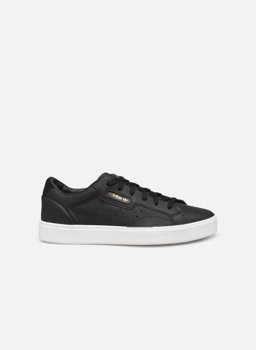 Sneaker adidas originals Adidas Sleek W schwarz ansicht von hinten