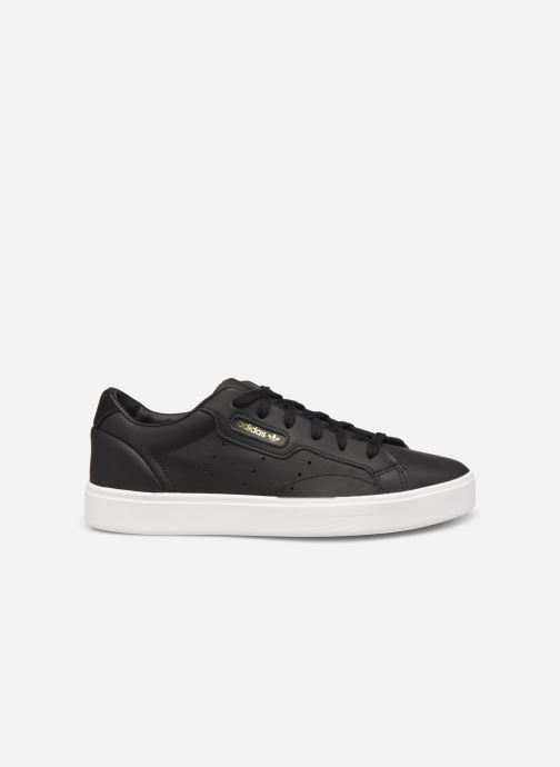 Baskets adidas originals Adidas Sleek W Noir vue derrière