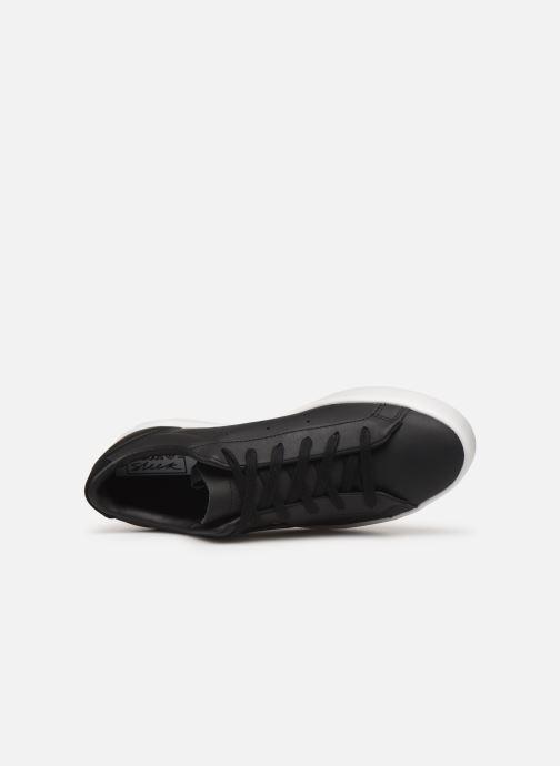 Sneaker adidas originals Adidas Sleek W schwarz ansicht von links