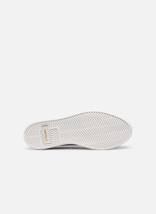 Sneaker adidas originals Adidas Sleek W schwarz ansicht von oben