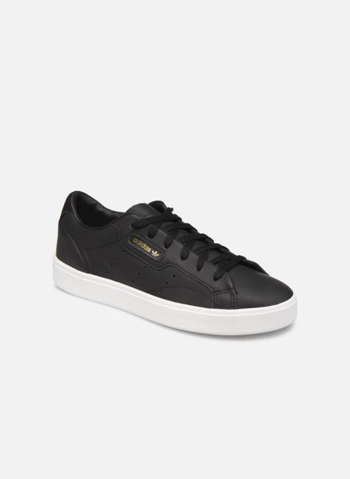 Baskets adidas originals Adidas Sleek W Noir vue détail/paire