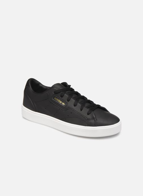 Trainers Adidas Originals Adidas Sleek W Black detailed view/ Pair view