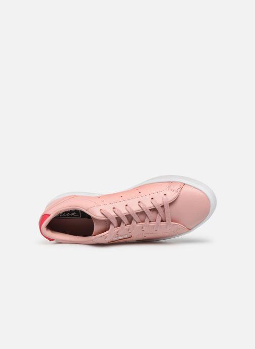Baskets adidas originals Adidas Sleek W Rose vue gauche