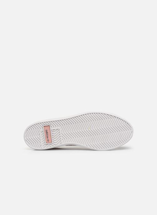 Baskets adidas originals Adidas Sleek W Rose vue haut