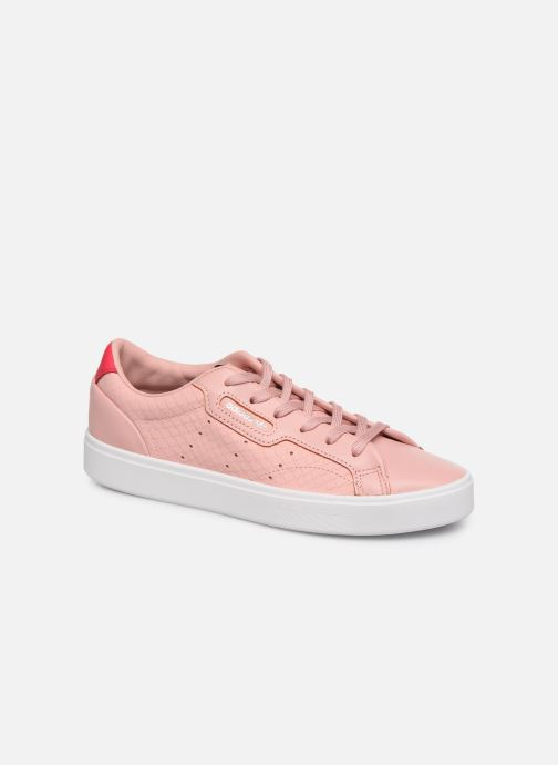 Baskets adidas originals Adidas Sleek W Rose vue détail/paire