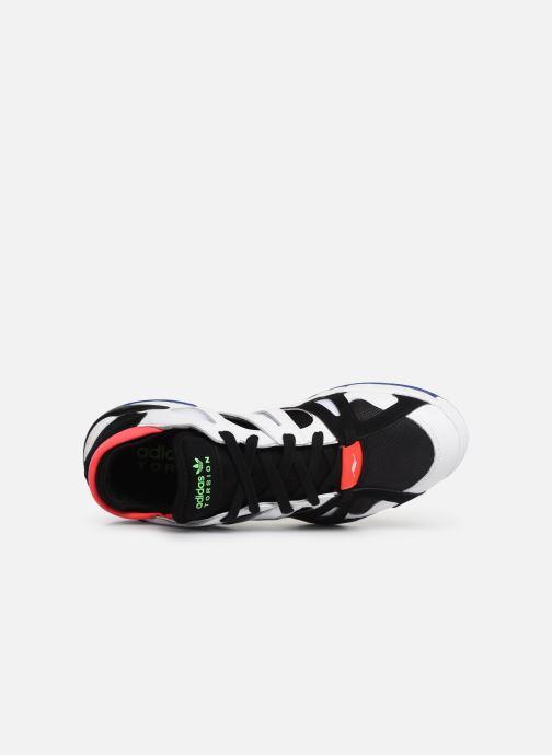 Sneaker Adidas Originals Dimension Lo weiß ansicht von links