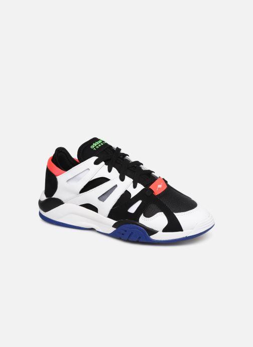 Baskets adidas originals Dimension Lo Blanc vue détail/paire