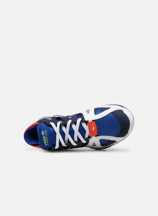 Sneaker adidas originals Dimension Lo blau ansicht von links