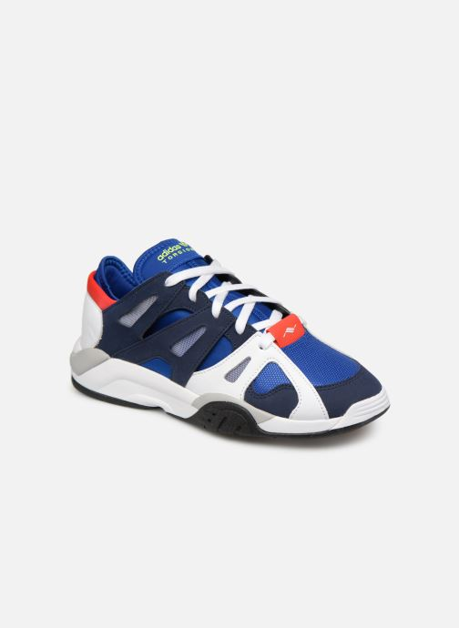 Trainers adidas originals Dimension Lo Blue detailed view/ Pair view