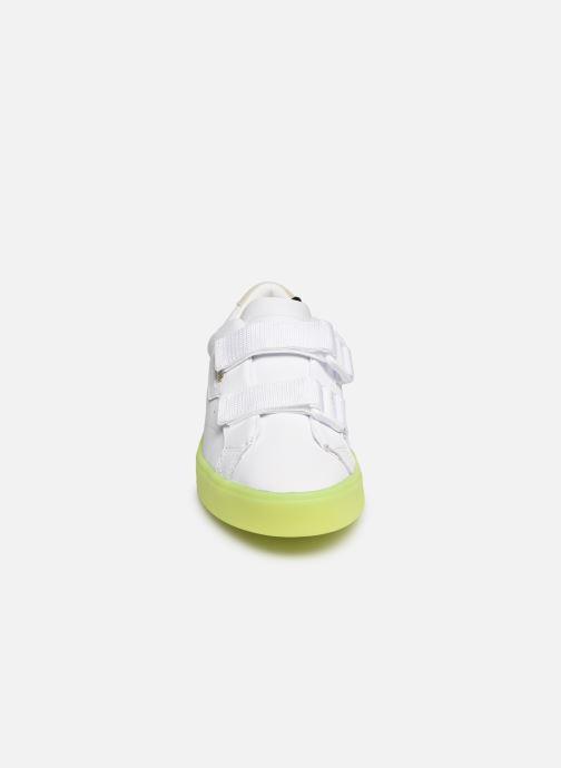 Sneaker Adidas Originals Adidas Sleek S W weiß schuhe getragen